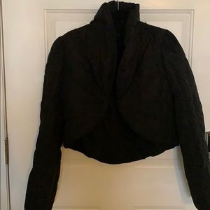 Arden B. Cropped puffy jacket